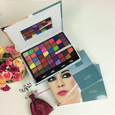 Paleta de Sombras 3D com 96 cores Vivai