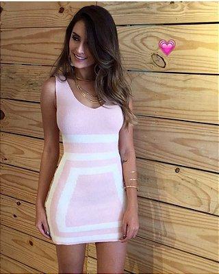 Vestido Curto Tricot Color Candy