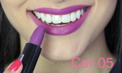 Batom Queen Makeup Matte -  Cor 05