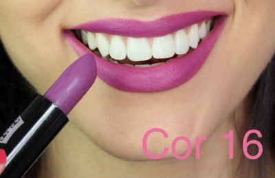 Batom Queen Makeup Matte - Cor 16