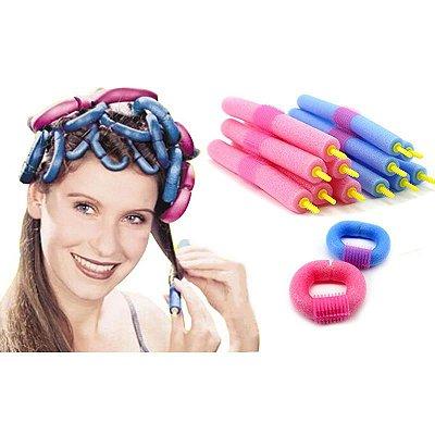 Hair Curler Pacote com 12 Peças