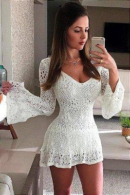 Vestido Curto Tricot - Lily P&V 17