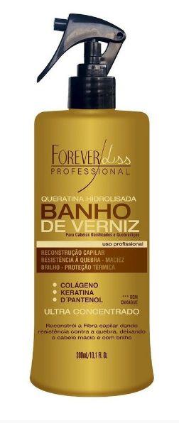 Forever Liss Queratina Banho de Verniz - 300ml