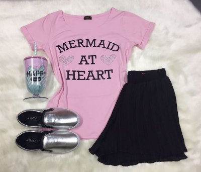 Tee Shirt Mermaid