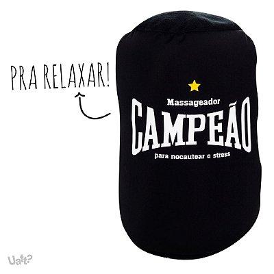 ALMOFADA - ALMOFOFA MASSAGEADORA ROLO - CAMPEÃO