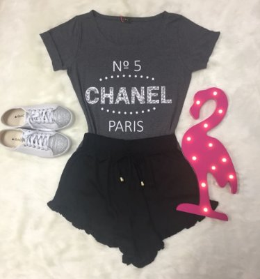 Tee Shirt Chanel Paris