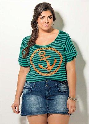 T-Shirt Listrada Quintess Plus Size