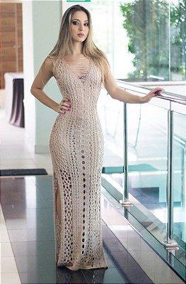 Vestido Longo Tricot Melissa