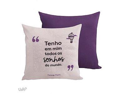 Almofada Fernando Pessoa