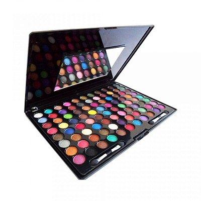 Estojo de Sombras 3D com 88 cores Fashion Light Vivai 2079