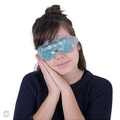 Tapa olhos com bolinhas gel - deseja