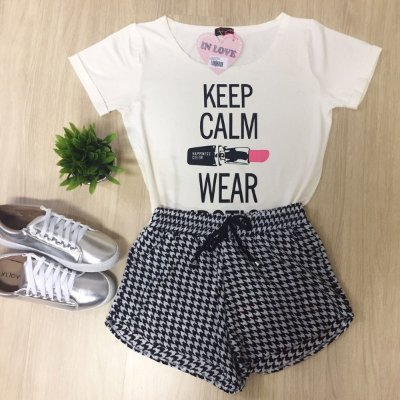 T-Shirt Keep Calm - In love