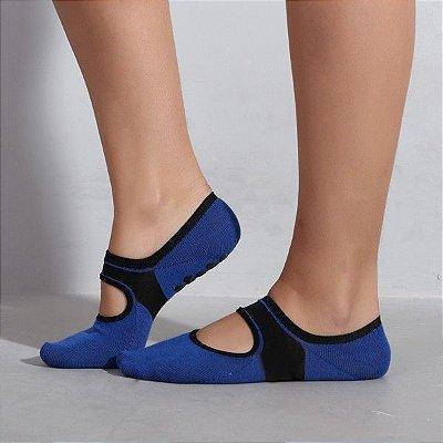 Sapatilha Para Pilates Azul