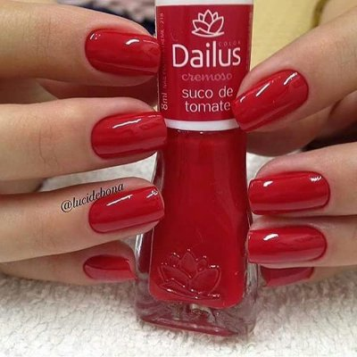 Esmalte Dailus 218 - Suco de Tomate