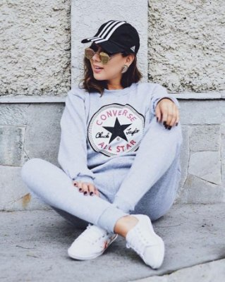 Conjunto de Moletom Converse All Star