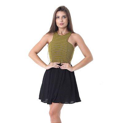 Vestido Pitanga Listra Mix