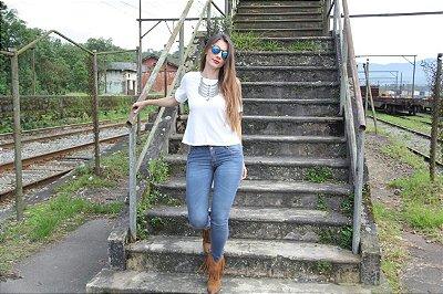 Calça jeans skinny Old West