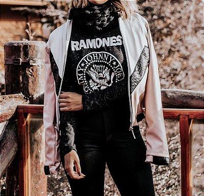 Tee Manga Longa Ramones
