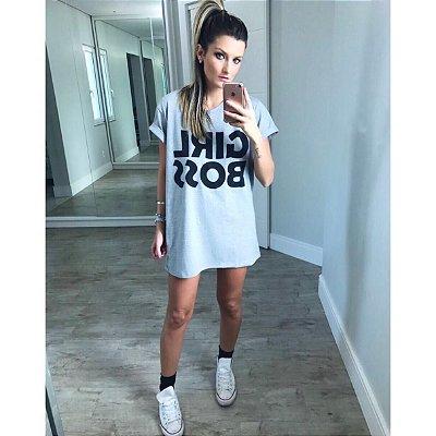 Vestido Mescla Girl Boss