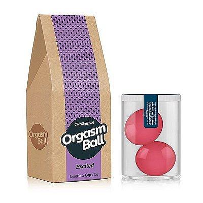 Orgasm Ball - Óleo Beijável
