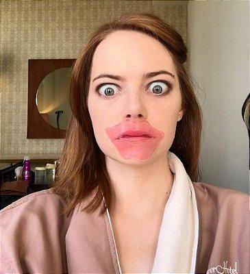 Kit 10 Máscara de Lábios que Hidrata e da Volume Pilaten