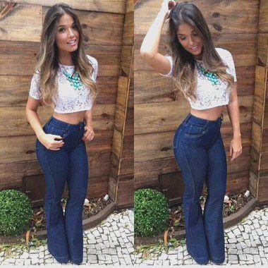 Calça Jeans Flare Josy