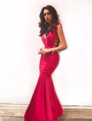 Vestido Sereia Luxo