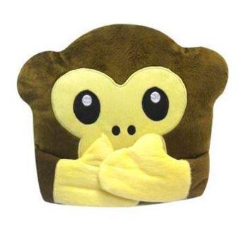 Almofada Emoji Macaco Mudo