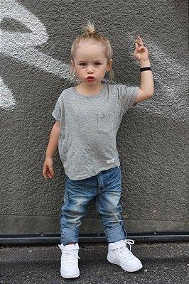 Tênis Infantil Cano Médio