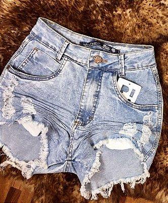Short Jeans Manchado