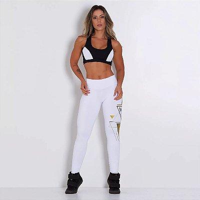 Calça Fitness White Move LG165
