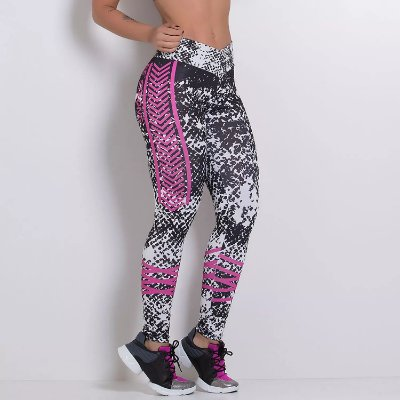 Legging Fitness Sublimada Be Strong LG555