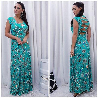 Vestido Longo Esmeralda