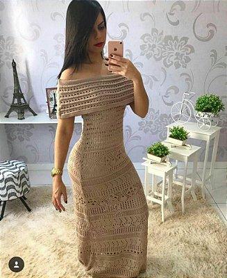 Vestido Longo Tricot Bia