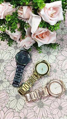 Relógio MK Luxo