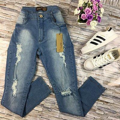 Calça Jeans Rasgadinha