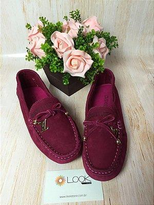 Mocassim Louis Vuitton - Rosa Escuro