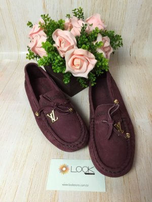 Mocassim Louis Vuitton - Roxo