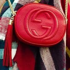 Gucci Soho Mini Chain - Couro