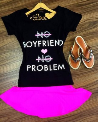 Tee Shirt No BoyFriend