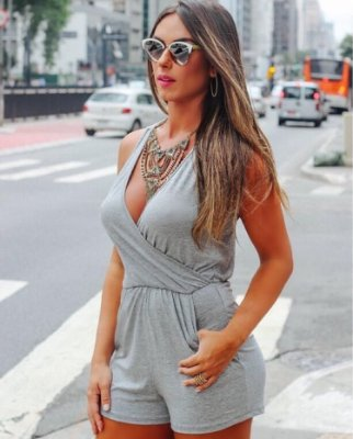 Macaquinho Mescla Nicole