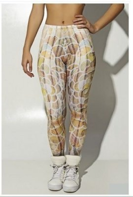 Legging Wood Art Sublimada