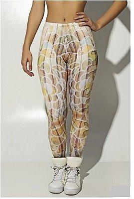 Legging Wood Art Sublimada