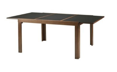 Mesa Elástica C/Vidro Colado 1,40 x 90 (+60cm Elástisca)