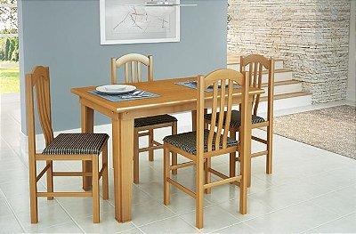 Sala de Jantar Flávio Móveis 1,18 x 83 - 06 Cadeiras