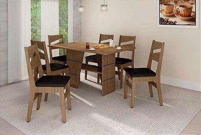 Sala de Jantar 1,50 x 88 - 06 Cadeiras