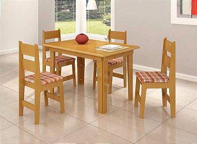 Sala de Jantar 1,18 x 83 - 04 Cadeiras