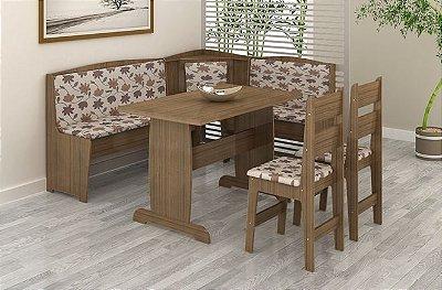 Sala de Jantar Canto Alemão Flávio Móveis - Compre Pelo PagSeguro em até 17 Parcelas - Clique em Ver Mais seu Parcelamento.