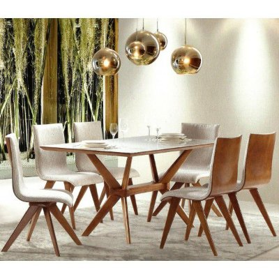 Sala de Jantar 2,00 x 1,00 - 08 Cadeiras