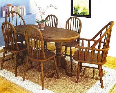 Sala de Jantar 1,80 x 90 - ( 06 Cadeiras )